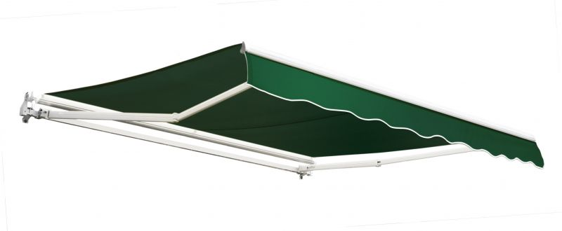 3.5m Toldo Económico Manual Color Verde